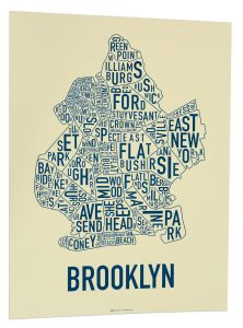 "Brooklyn ""Royal Navy"" Screen Print"