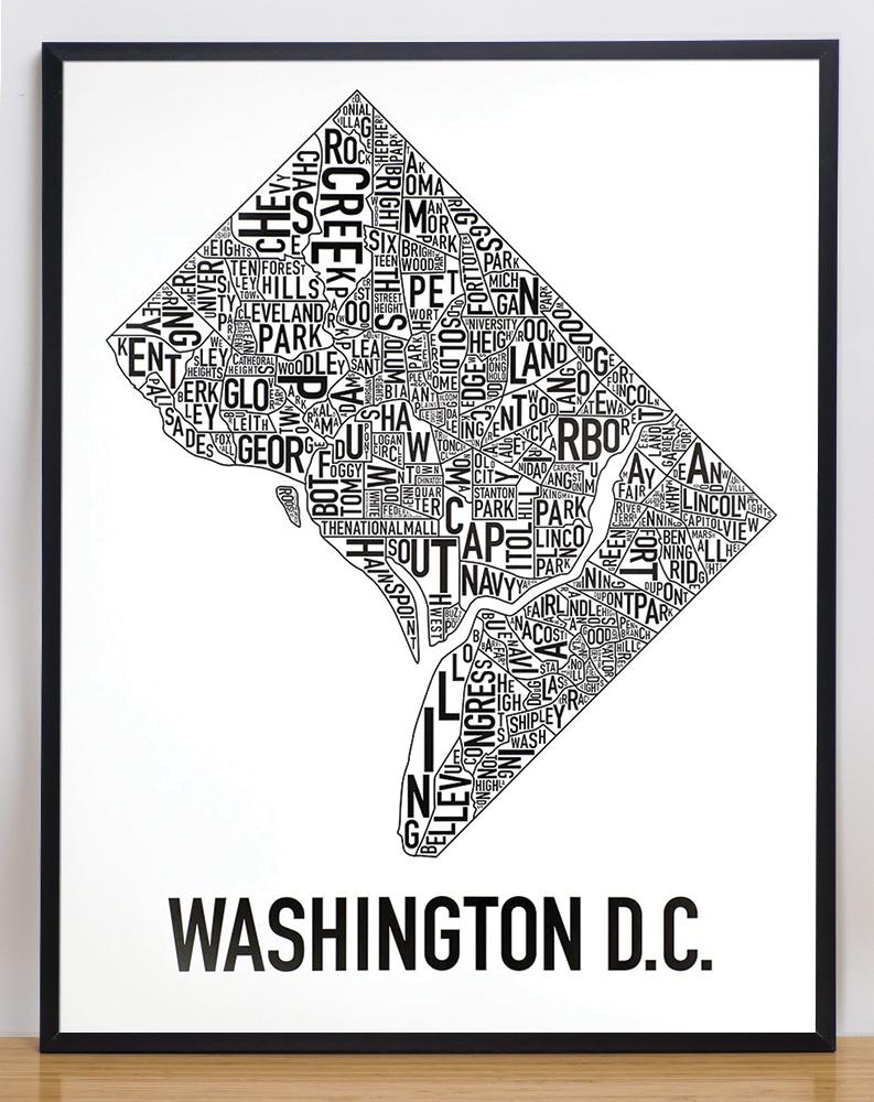 Washington DC Neighborhood Map 22