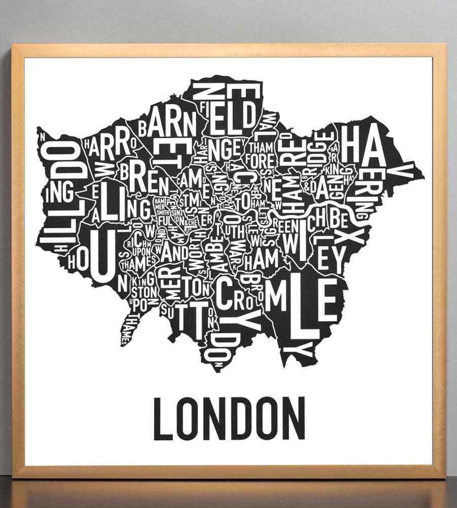 Greater London Borough Map 18\