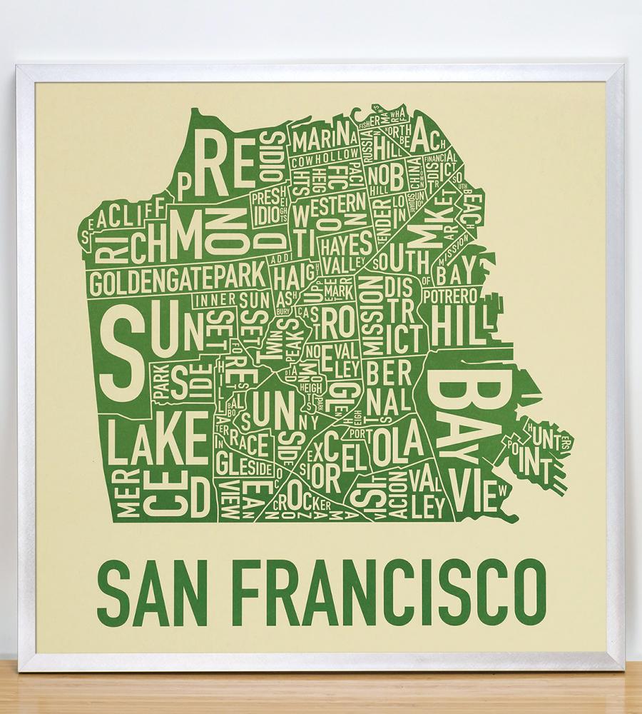 San Francisco Neighborhood Map 18\