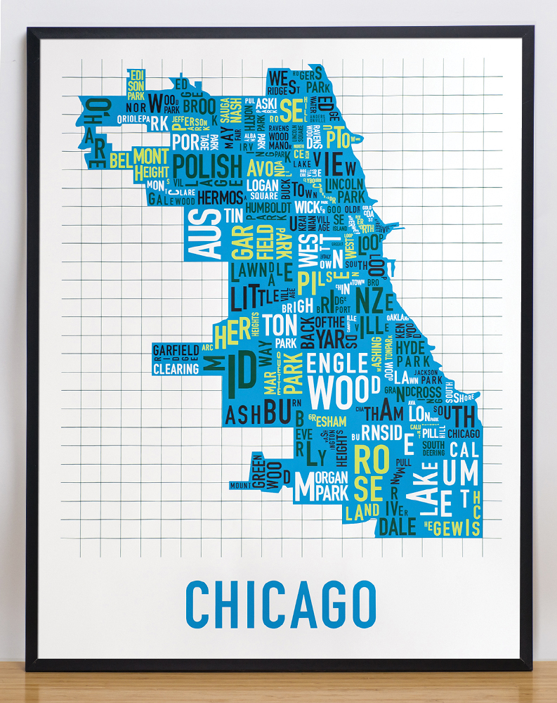 Chicago Neighborhood Map 22