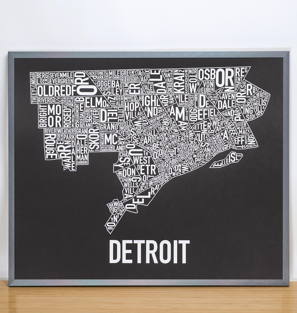 Detroit Neighborhood Map 24\
