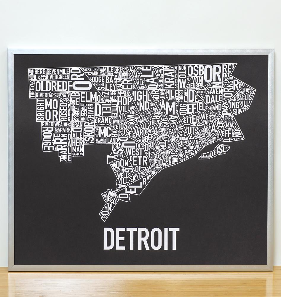 Detroit Neighborhood Map 24\