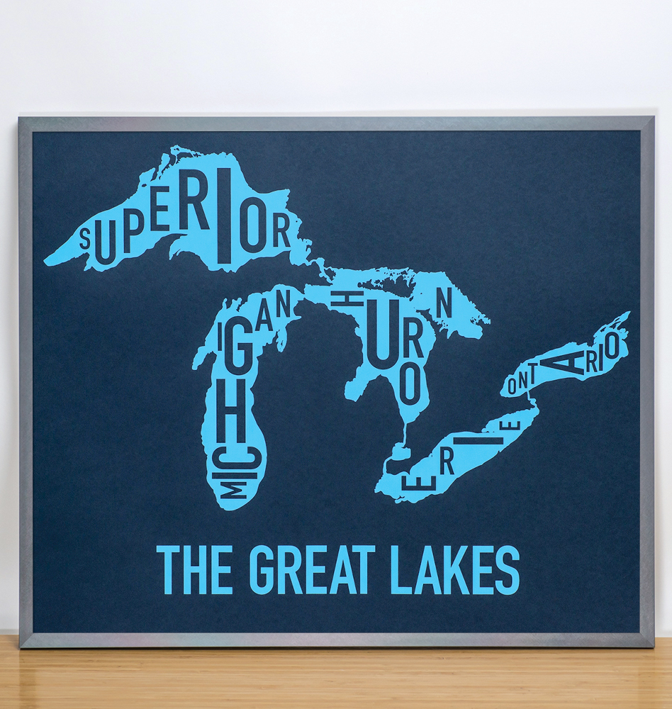 Great Lakes Map 24
