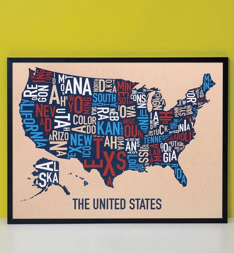 United States Map 24\
