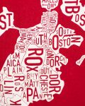 Boston Baby Onesie in Red