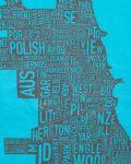 Chicago Women's Tee in Blue