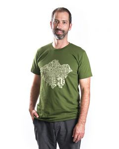 Greater London Men's Tee in Green
