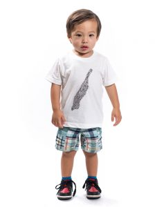 Manhattan Kid's Tee in White