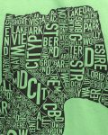 New Orleans Men's Tee in Green