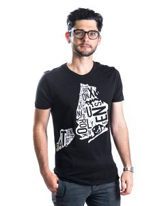 New York Men's Tee in Black