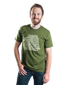 San Francisco Men's Tee in Green