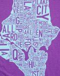 Seattle Women's Tee in Purple