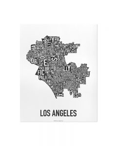 Los Angeles 11x14 Classic B&W Poster