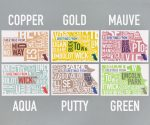 Chicago Postcards Color Assortment