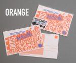 San Francisco Postcard, Orange, Marina