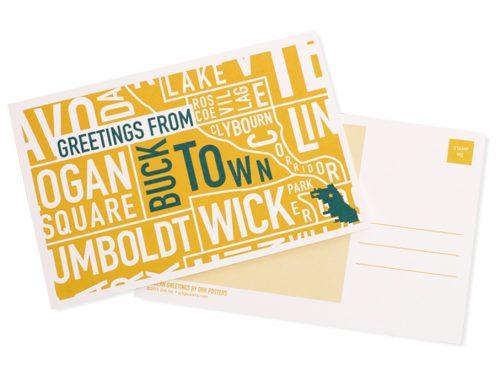 Chicago Neighborhood Postcards, Bucktown