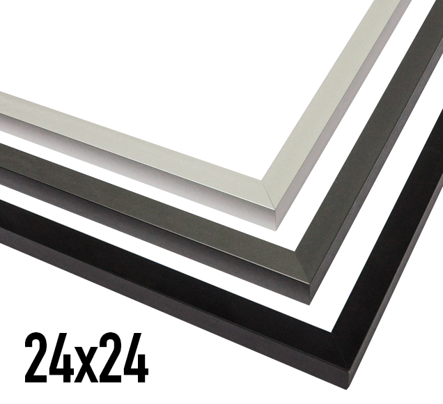 modern metal frames made in the usa to fit our unique sizes of posters