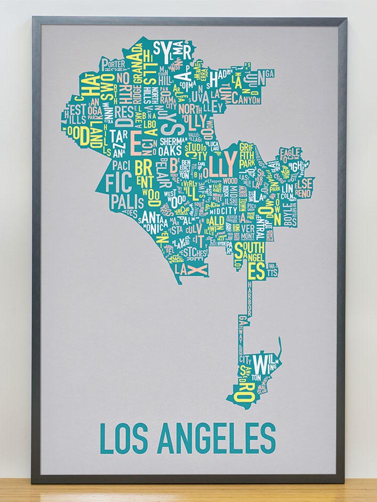 Los Angeles Neighborhood Map 20\