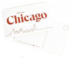 Chicago Illinois postcard
