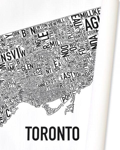"""Toronto B&W Canvas, 30"""" x 24"""""""