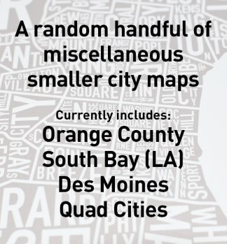 Even More! Misc. City Maps