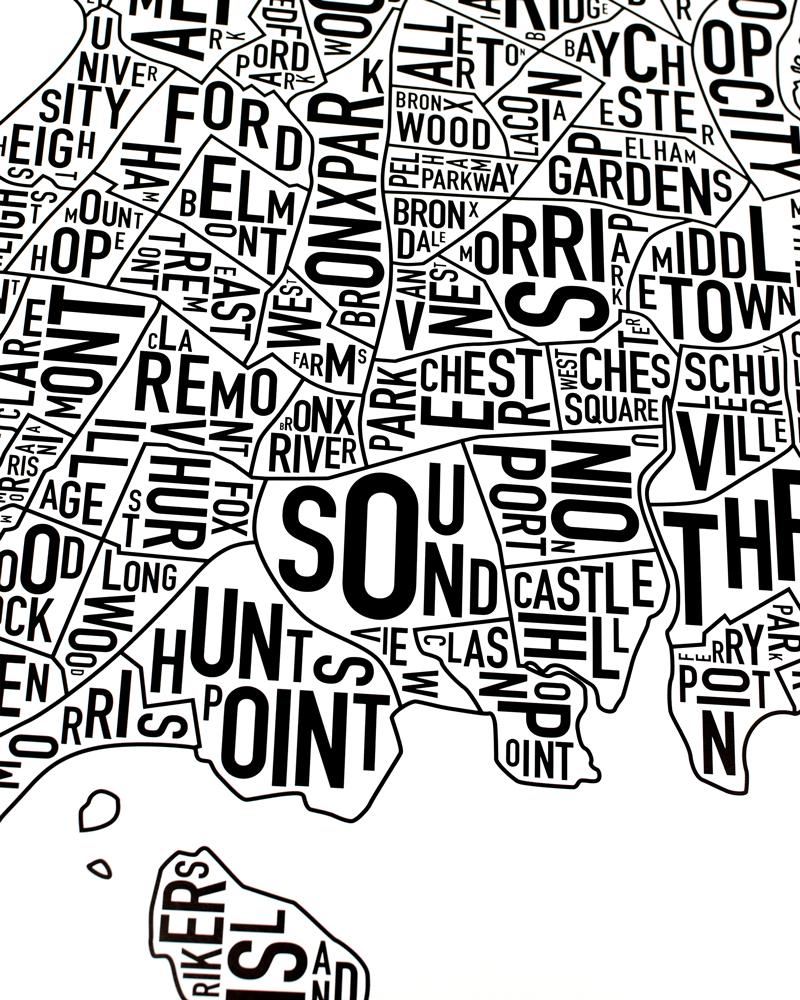 Bronx black and white