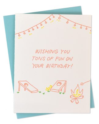 Wishing You Tons of Fun Birthday Card by Iron Curtain Press