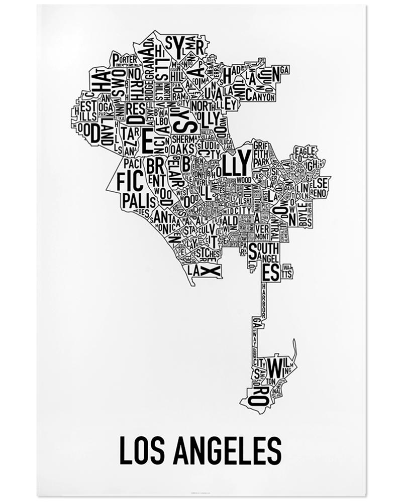 Los Angeles Neighborhood Map 24