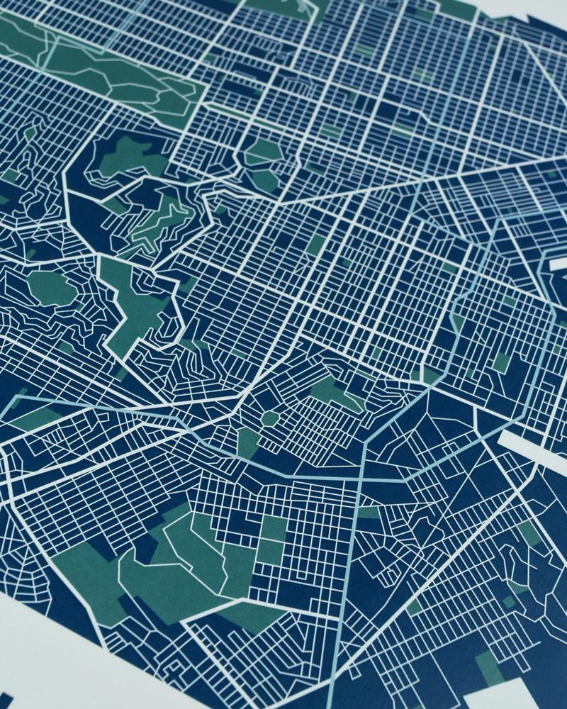 San Francisco Street Map 12.5\