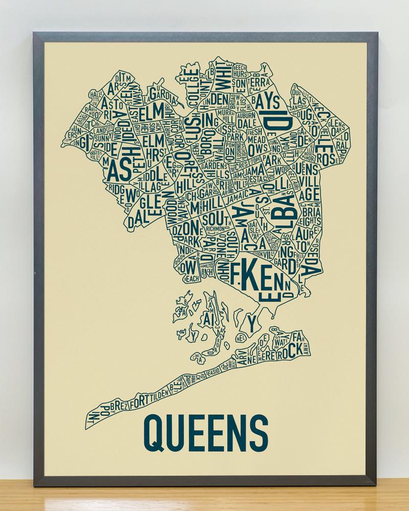 Queens Neighborhood Map 18