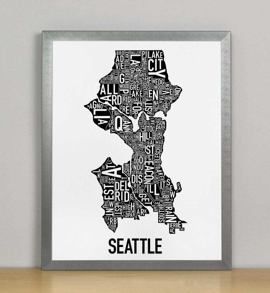 Seattle Neighborhood Map 11\