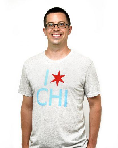 I Star Chi Unisex T-Shirt, Ash Grey