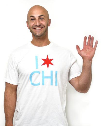 I Star Chi Unisex T-Shirt, White