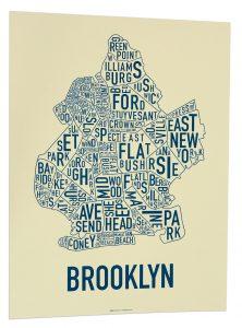 "Brooklyn ""Royal Navy"" Screen Print"
