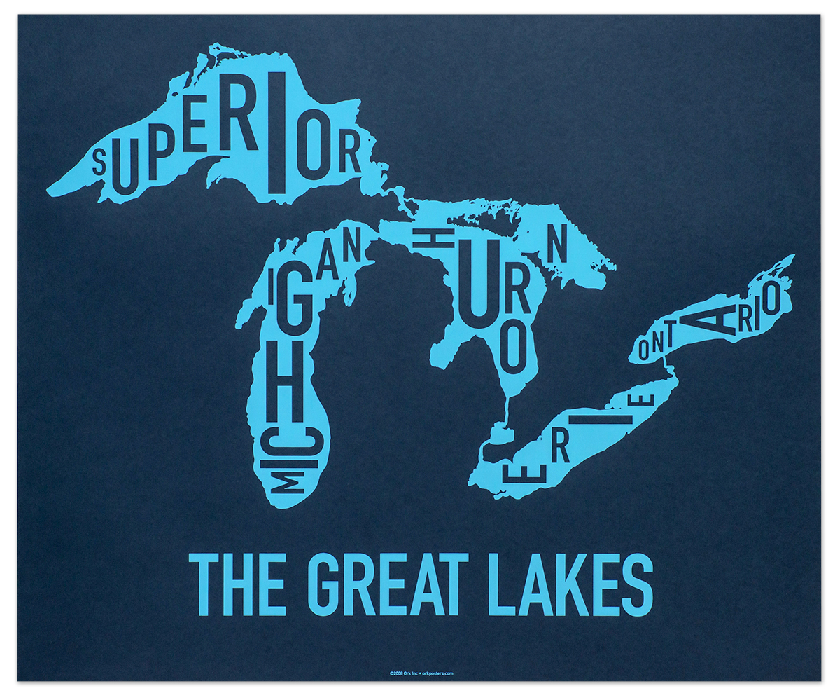 Great Lakes Archives - City Neighborhood Maps & More