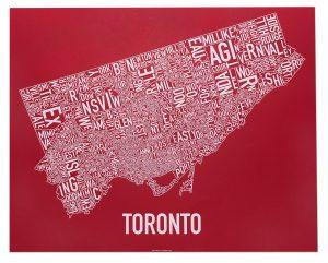 "Toronto ""O Canada!"" Screen Print"
