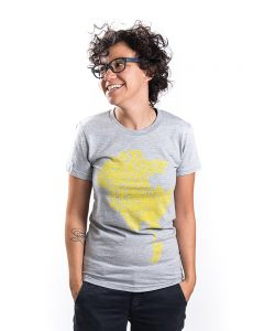 LA Women's Tee in Grey
