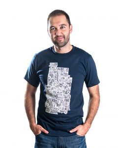Minneapolis Men's Tee in Navy