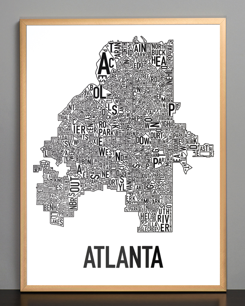 pittsburgh city limits map with Atlanta Neighborhood 18 X 24 Classic Black White Poster on Usmet besides Election besides Guide further City Maps besides Skid Row  Los Angeles.