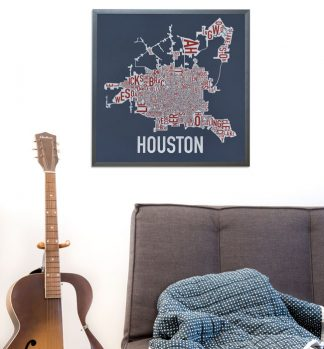 Houston Type Neighborhood Map