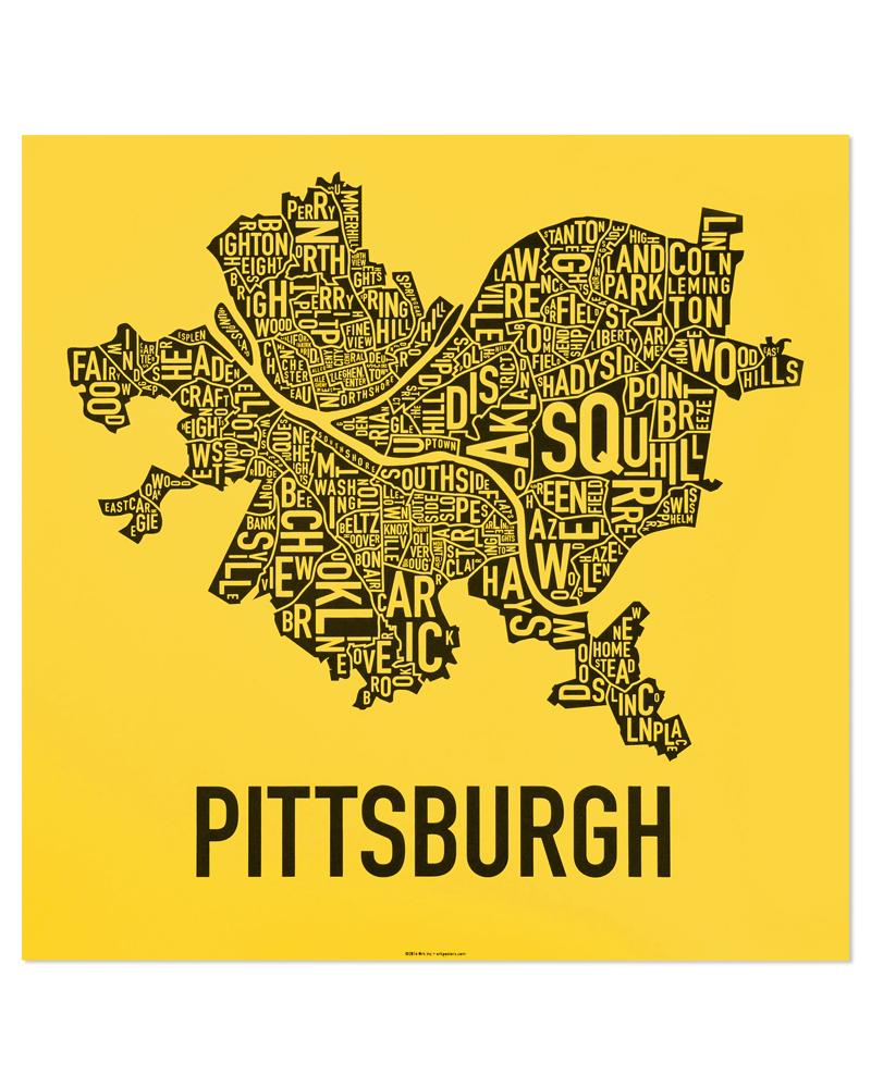 Pittsburgh Neighborhood Map Pittsburgh Neighborhood Map 18