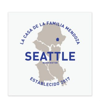 seattle custom family artwork home decor print housewarming gift